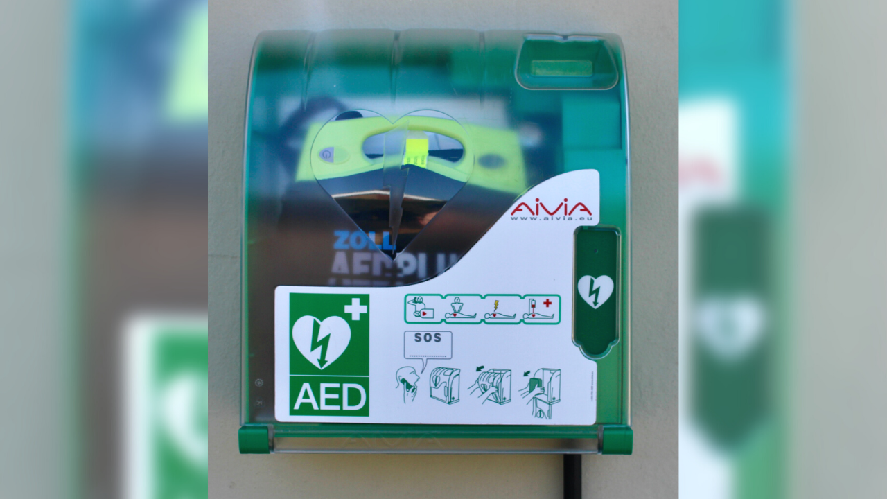 second AED installed
