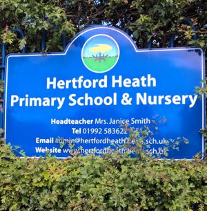 Primary School and Nursery sign